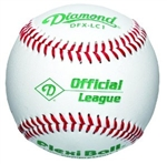 diamond flexi ball official league baseballs dfx-lc1 ol - dozen