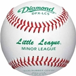 diamond youth minor league game baseballs dfx-lc5 ll