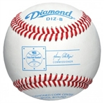 diamond dizzy dean official full leather game baseballs diz-b - dozen