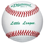 Diamond DLL-1 Little League Leather Baseballs - 10 Dozen