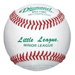 diamond dll-1 mc minor league mid compression baseball - 10 dozen