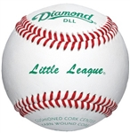 Diamond DLL Little League Baseballs - 10 Dozen