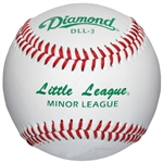 diamond little league regular season baseballs dll-3