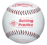diamond kevlar seam pitching machine baseballs - dozen
