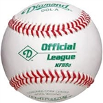 diamond dol-a nfhs official league game baseballs - dozen