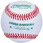 diamond sports dol mvp usssa leather game baseball - dozen