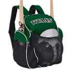 champro e74 team players baseball softball back pack 9x18x18