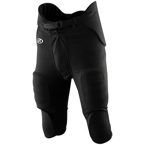 Rawlings Adult Integrated Football Pants White F3500P Various Sizes