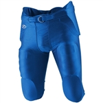 rawlings football game pants with built-in pads f4500p