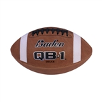 Baden QB1 Deuce Youth Leather Football