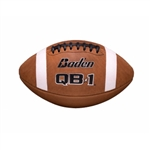 Baden QB1 Leather Duece NFHS Football