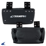 Champro Football Black Backplate