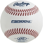 Rawlings R100UP Practice Baseball - Flat Seam