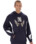 alleson gameday fleece performance team hoodie gfh2