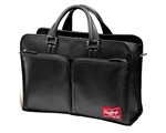 Rawlings Premium Heart of the Hide Black Leather Briefcase
