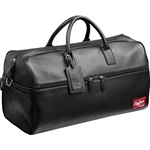 Rawlings Premium Heart of the Hide Black Leather Duffel Bag