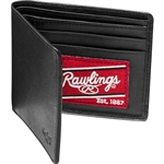 Rawlings Premium Heart of the Hide Leather Single-Fold Wallet - Black