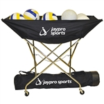 Jaypro Hammock Drill Volleyball Cart