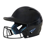 Champro HX Rise Solid Batting Helmet w/Mask