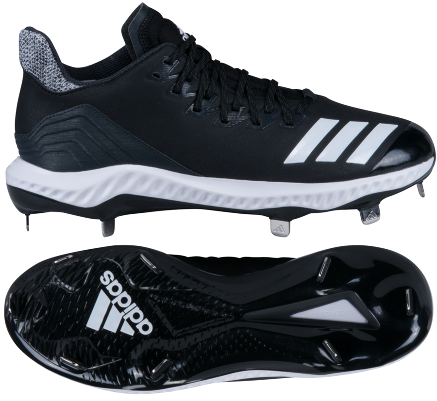 da4abfedc Adidas Icon 4 Bounce Mens Metal Baseball Cleats Larger Photo ...