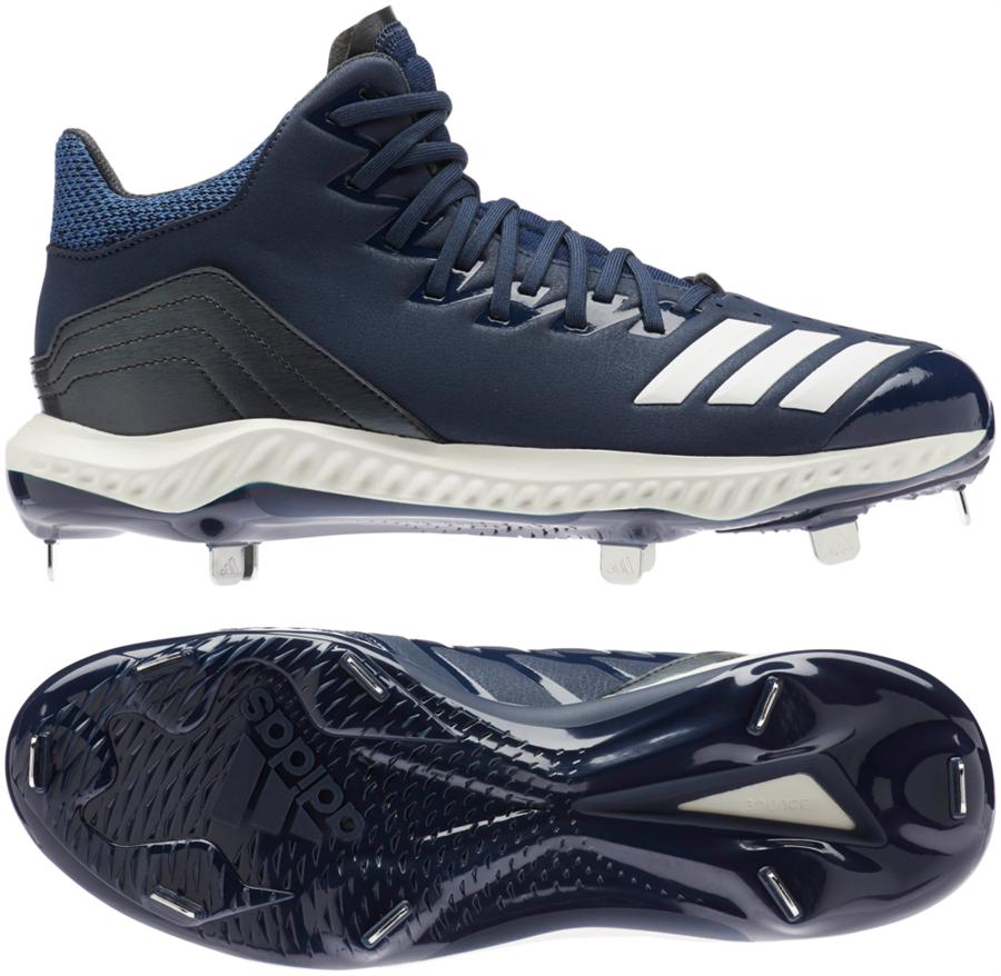 big sale fd3e6 7315c Adidas Icon 4 Bounce Mid Mens Metal Baseball Cleats