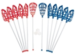 Champion Sports Soft Lacrosse Set ( 12 Sticks)