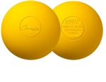 Champion Sports Yellow Lacrosse Balls - NFHS - Dozen