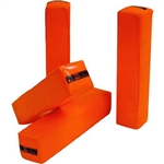 Football Pro Down Weighted Anchor-less Pylon Set