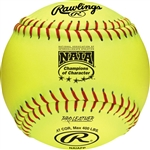 "Rawlings NAIA 12"" Official Softballs - NAIAFP - Per Dozen"