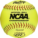 "Rawlings NCAA Official 12"" Softballs - NC12L - Per Dozen"