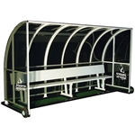 Jaypro Nova Team Shelter with Bench - 8'