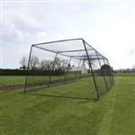 baseball 55' trapezoid batting cage kit w l-screen