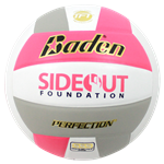 Baden Perfection Dig Pink Leather Volleyball