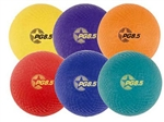 "Champion Sports Playground Ball Set - (6) 8.5"" Balls"