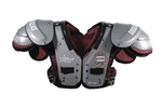 Douglas Nitro NP 25 Adult Football Shoulder Pads - RB/DB/QB