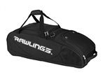 rawlings player preferred wheeled baseball bag ppwb