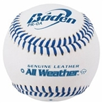 baden american legion leather game baseballs 3b-proal dozen
