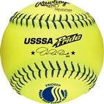 "Rawlings USSSA Official 12"" Softballs - PRIDEFP - Per Dozen"