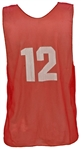 Champion Sports Numbered Practice Pinnies - 12 Tanks with Numbers
