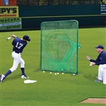 Jaypro Soft Toss Batting Practice Screen - 7x7