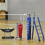 Jaypro Volleyball Featherlite Volleyball System Package 3 1/2""
