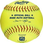 "Rawlings Babe Ruth Official 11"" Softballs - PX11RYLBR - Per Dozen"