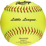 "Rawlings Little League Official 12"" Softballs - PX2RYLLL - Per Dozen"