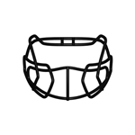 Xenith Prime Football Helmet Facemask