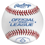 rawlings r100 official league baseballs - dozen