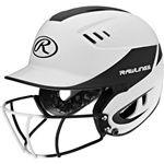 Rawlings Velo Baseball Batting Helmet - Matte / Metallic