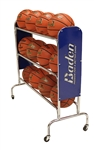 Baden Basketball Rolling Ball Rack - Holds 12 Balls