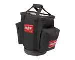rawlings coaches baseball ball bag rballb-b