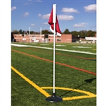 Jaypro Soccer Corner Flags - Set of 4