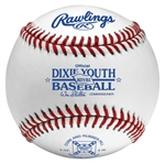 rawlings rdyb1 dixie league youth game baseballs - dozen